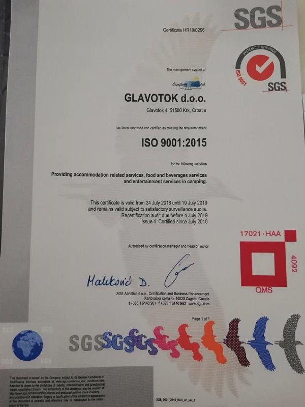 ISO 9001:2015 i HACCP